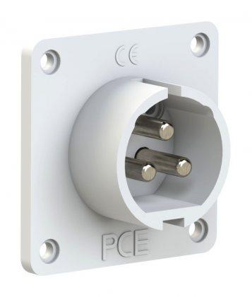 683-12 PCE Вилка встраиваемая 16А/42V/2P+E/IP44