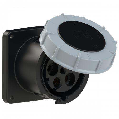 345-7 PCE Розетка встраиваемая 125А/500V/3P+N+E/IP67