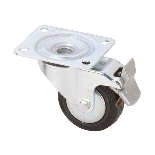370091 Adam Hall Колесо поворотное 80 мм с тормозом
