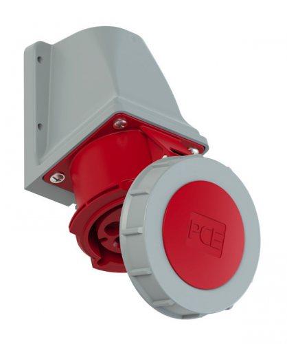 1272-6 Розетка настенная 7-ми контактная 32А/400V/7P/IP67 (не производят)