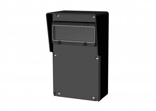 9210000 Распределительное  устройство из резины пустое, настенное KLAGENFURT