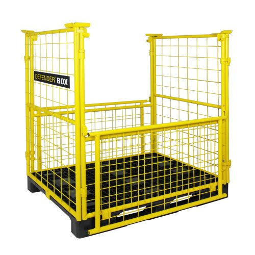 85BOX Defender Box Transport Box Транспортный  контейнер для многофункциональной транспортировки и хранения  грузоподъемностью в 1 т (1250x1285x840mm) Adam Hall