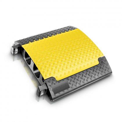 85600 Defender Ultra L 4-канальная  прочная полиуретановая кабельная защита (70x78,3x13,9) Adam Hall