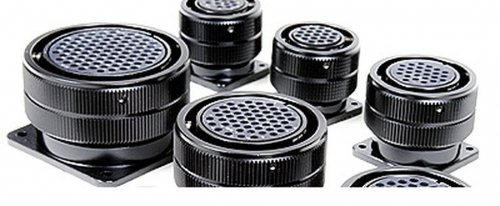 SVK019FP-SST SVK 019 pin розетка панельная, без фиксирующего кольца, покрытие контактов серебро, под пайку, контакты вставлены