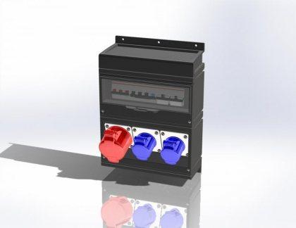 Электрощит настенный Alpenbox System арт. 0500001