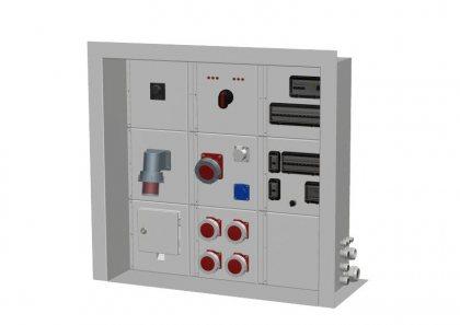 Распределительный встраиваемый электрощит Alpenbox System арт. 7770139