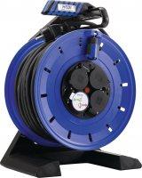 K740NTF HEDI Удлинитель на катушке из пластика D=290мм/4GS/IP54/40м H07RN-F3G1,5/термозащита