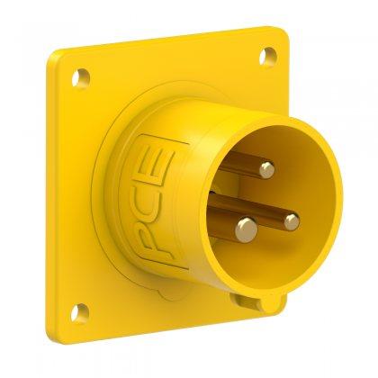 613-4 PCE Вилка встраиваемая 16А/110V/1P+N+E/IP44
