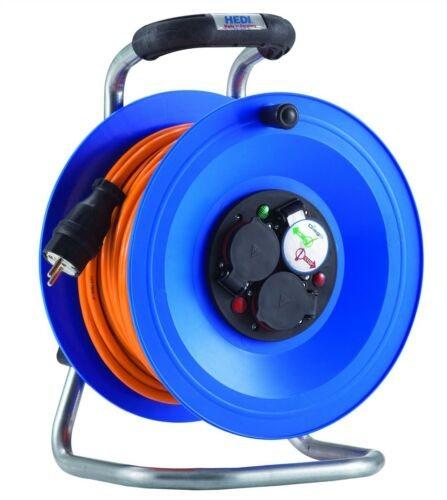 K2Y40Q2TF HEDI Удлинитель на катушке из пластика D=290мм/3GS/IP44/40м H07BQ-F3G2,5/термозащита