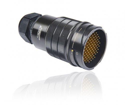 SVK085MV-GSMQNT SVK 85 pin вилка кабельная, покрытие контактов золотом, под пайку, контакты вставлены