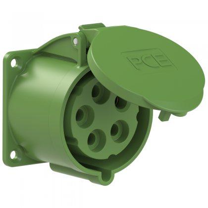 325-2 PCE Розетка встраиваемая 32А/50-500V/3P+N+E//IP44