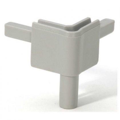 Q4502FMG Adam Hall Уголок пластиковый Easy Case System, цвет средне-серый