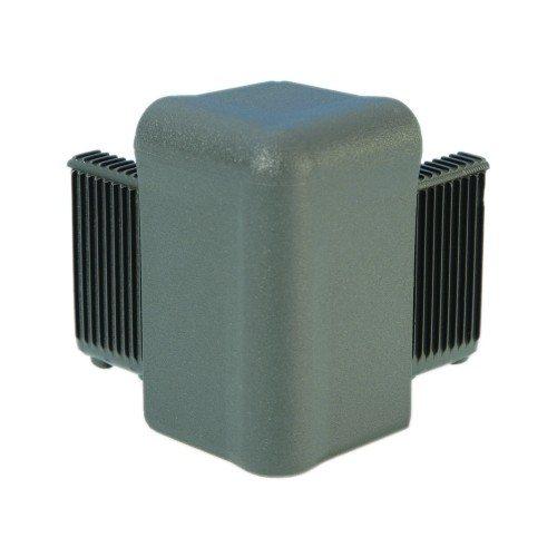 Q4504MG Adam Hall Уголок пластиковый Easy Case System, цвет средне-серый