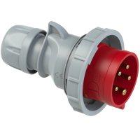 0252-6tt PCE Вилка кабельная 32А/400V/3P+N+E/IP67, безвинтовое подключение