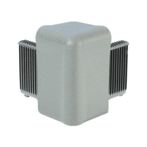 Q4504AG Adam Hall Уголок пластиковый Easy Case System, цвет серый алюминий