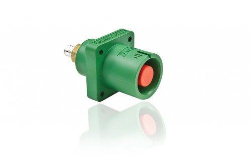 SPX4PSEGN-CP SPХ 400А розетка панельная Earth, зеленая с пилотным контактом