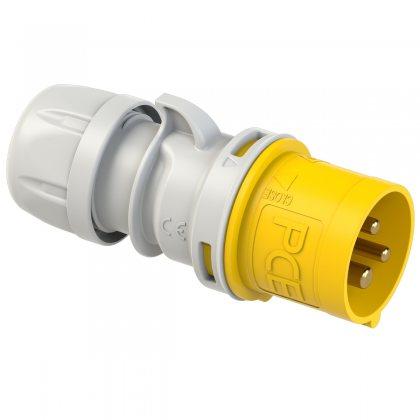 013-4 PCE Вилка кабельная 16А/110V/1P+N+E/IP44