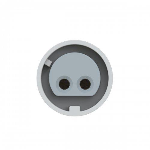 282-10v PCE Розетка кабельная 16А/24-42V/2P/IP44, никелированные контакты