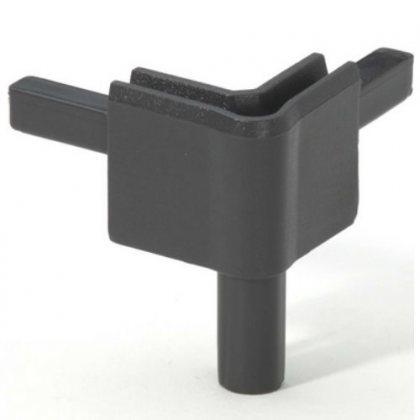 Q4502FDG Adam Hall Уголок пластиковый Easy Case System, цвет тёмно-серый