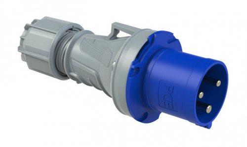 0331-6 PCE Вилка кабельная 63А/230V/1P+N+E/IP44