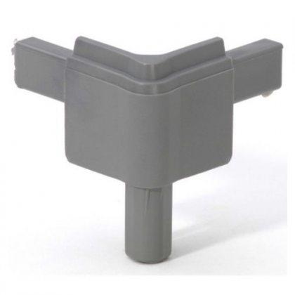 Q4502MMG Adam Hall Уголок пластиковый Easy Case System, цвет средне-серый