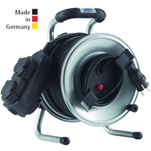 G1S25NTFHK HEDI Удлинитель на катушке из металла D=255мм/3GS/IP44/25м H07RN-F3G1,5/термозащита