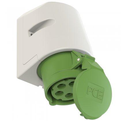 115-2 PCE Розетка настенная 16А/50-500V/3P+N+E/IP44