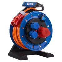 K7D2516Q2T HEDI Удлинитель на катушке из пластика D=290мм/2GS+1CEE/16A/ IP54/25м H07RN-F5G2,5 термозащита
