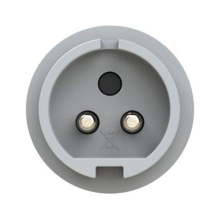 082-12 PCE Вилка кабельная 16А/42V/2P/IP44
