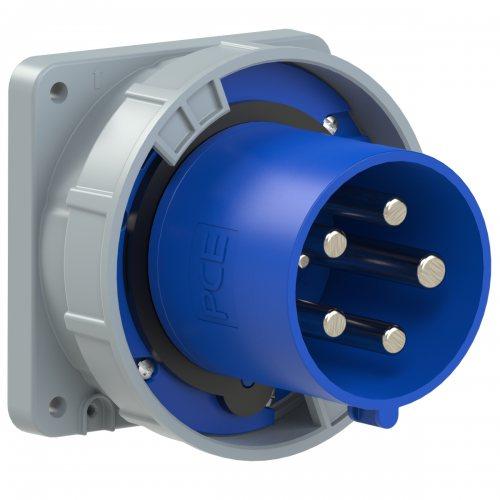 645-9 PCE Вилка встраиваемая 125А/230V/3P+N+E/IP67