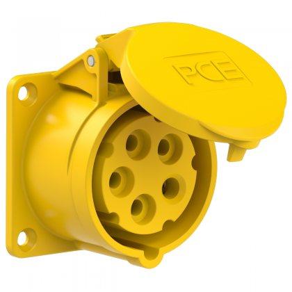 315-4 PCE Розетка встраиваемая 16А/110V/3P+N+E/IP44