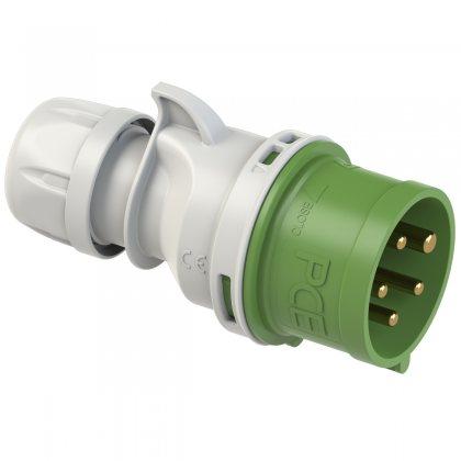 015-10 PCE Вилка кабельная 16А/>50-500V/3P+N+E/IP44