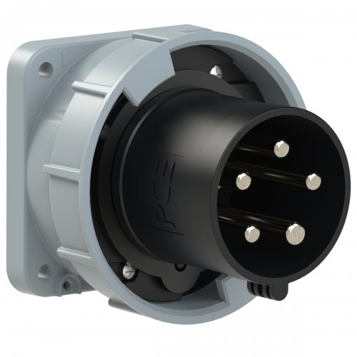 635-7 PCE Вилка встраиваемая 63А/500V/3P+N+E/IP67