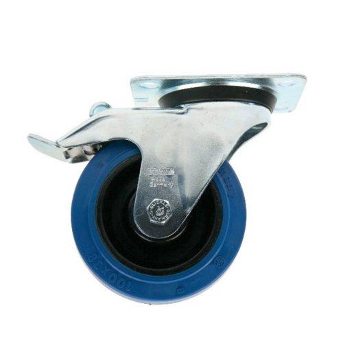 37224 Adam Hall Колесо поворотное 100 мм с тормозом