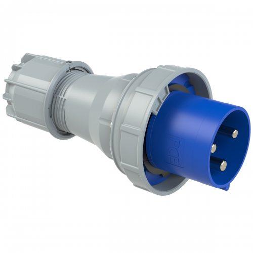 043-6 PCE Вилка кабельная 125А/230V/1P+N+E/IP67