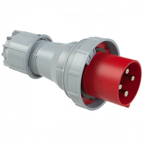044-6 PCE Вилка кабельная 125А/400V/3P+E/IP67