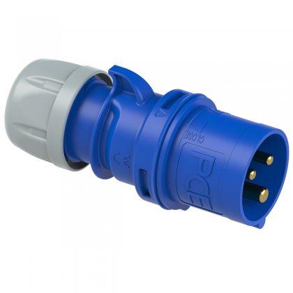 013-6 PCE Вилка кабельная 16A/230V/1P+N+E/IP44