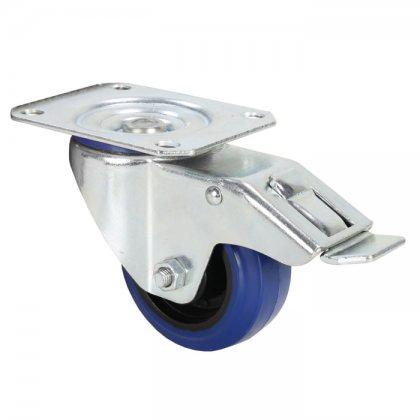 372091 Adam Hall Колесо поворотное 80 мм с тормозом