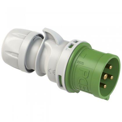 024-2 PCE Вилка кабельная 32А/50-500V/3P+E/IP44