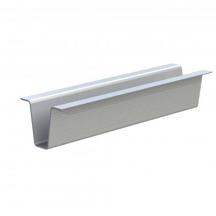 6151 Adam Hall Профиль алюминиевый для поддонных полозьев, длина 4000 мм