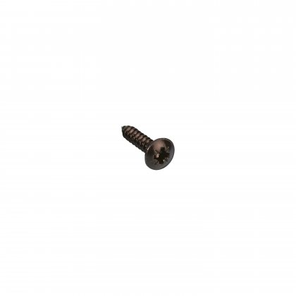 5546BLK Adam Hall Винт 15 мм с плоской головкой, черный