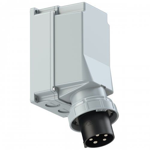 545-7 PCE Вилка настенная 125А/500V/3P+N+E/IP67