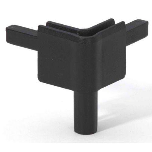 Q4502FBLK Adam Hall Уголок пластиковый Easy Case System, цвет черный