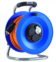 K2Y50QTF HEDI Удлинитель на катушке из пластика D=290мм/3GS/IP44/50м H07BQ-F3G1,5/термозащита
