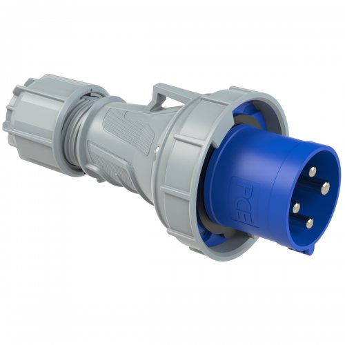 034-9 PCE Вилка кабельная 63А/230V/3P+E/IP67