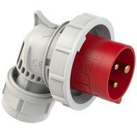 80132-9 PCE Вилка кабельная угловая 16А/400V/1P+N+E/IP67
