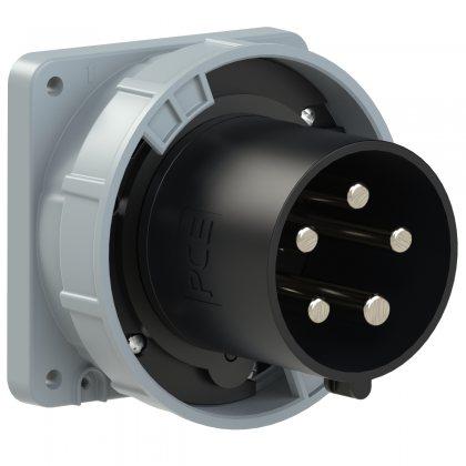 645-7 PCE Вилка встраиваемая 125А/500V/3P+N+E/IP67