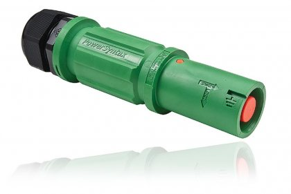 SPX4LSEGN035MQ SPX 400А розетка кабельная Earth, зеленая