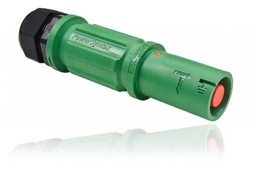 SPZ4LSEGN035MQ SPZ 400А розетка кабельная Earth, зеленая