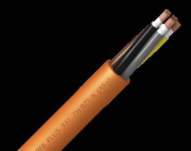 Кабель безгалогеновый TOXFREE PLUS 331 ZH RZ1-K (AS +) Top Cable